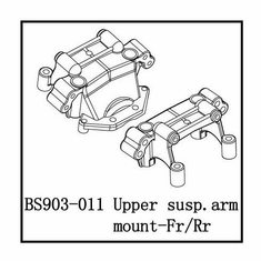 Upper Suspension Arm Mount (F/R)