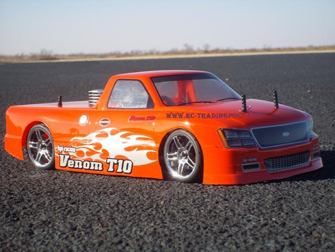 Venom T-10 Redcat Racing Gas RTR Custom Painted Nitro RC Cars Now With 2.4 GHZ Radio System!!!