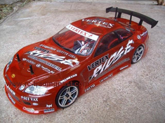 VERTEX RIDGE TOYOTA SOARER Custom Painted RC Touring Car / RC Drift Car Body 200mm (Painted Body Only)