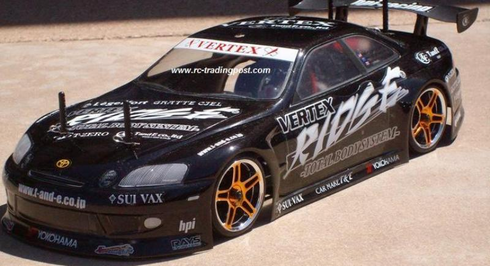 VERTEX RIDGE TOYOTA SOARER Redcat Racing EPX RTR Custom Painted Electric RC Drift Cars Now With 2.4Ghz Radio!!!