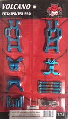 Volcano EP/EP Pro Aluminum hop up kit (New version) (Blue)