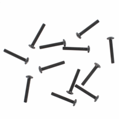 Washer Head Hex Screw, 3*18mm (12pcs) ~