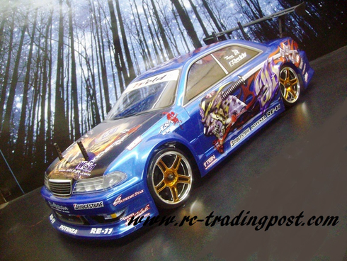 Weld JZX100 Toyota Mark II Redcat Racing EPX RTR Custom Painted Electric RC Drift Cars Now With 2.4Ghz Radio!!!