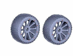 Rear Wheels, Complete (2pcs)?�