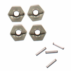 Wheel Hex Mount W/Pins(2*10) 4P ~