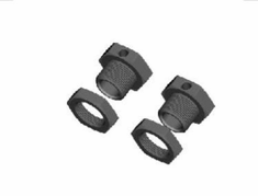 Wheel Hex Nuts, 2pcs ~