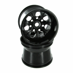Wheel Rims, Black (2pcs)