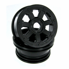 Wheel Rims, Black (2pcs) ~
