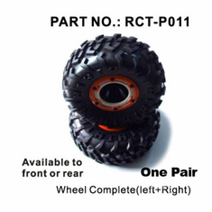 Wheels, Complete (Qty 2)