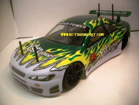 White Ice Redcat Racing EP Brushless RTR Electric RC Drift Cars Now With 2.4 GHZ Radio AND 2S Lipo Battery!!!