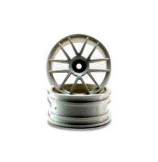 White spoke Wheels 2pcs