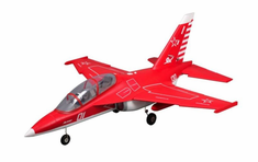 Yak 130 70mm Jet Plug N Play Red Brushless RC Airplane