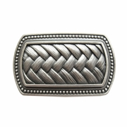 New Vintage Silver Plated Original Legend Irish Celtic Knot Belt Buckle Gurtelschnalle Boucle de ceinture