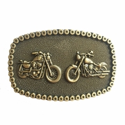 JEAN'S FRIEND Original Heavy Metal Motorcycle Chain Biker Rider Belt Buckle