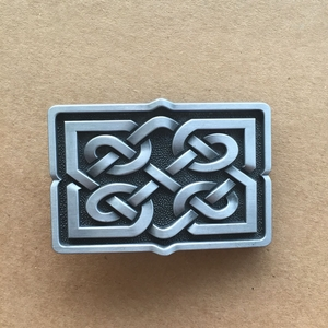 2016 New Jean's Friend Original Celtic Cross Knot Vintage Rectangle Belt Buckle