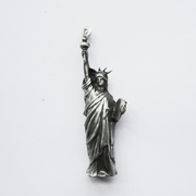 New Vintage 3D Liberty Enlightening the World Heavy Metal Charm Pendant