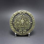 JEAN'S FRIEND New Classic Vintage Bronze Aztec Calendar Belt Buckle