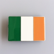 New Vintage Irish Flag Rectangle Belt Buckle Gurtelschnalle Boucle de ceinture BUCKLE-FG026