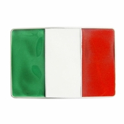 New Vintage Italy Flag Belt Buckle Gurtelschnalle Boucle de ceinture BUCKLE-FG001