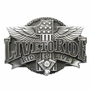 New Vintage Ride To Live US Flag Motorcycle Rider Biker Belt Buckle Gurtelschnalle Boucle de ceinture