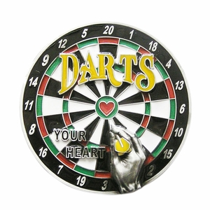 New Original Bar Darts Dart Board Sport Belt Buckle Gurtelschnalle Boucle de ceinture