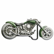 New Vintage Green 3D Heavy Metal Motorcycle Belt Buckle Gurtelschnalle Boucle de ceinture