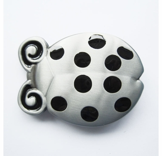 Lady Bug Insect Metal Belt Buckle