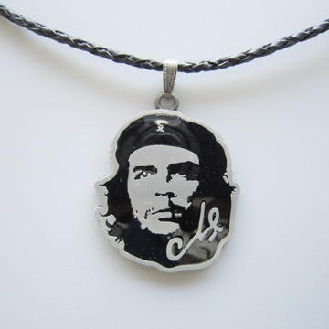 New Vintage Hero Metal Charm Pendant Costume Cosplay Leather Necklace