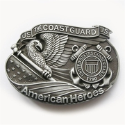 New Vintage American Hero Coast Guard Belt Buckle Gurtelschnalle Boucle de ceinture