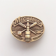 New Vintage Bronze Plated Mechanic Trades Tradesman Belt Buckle Gurtelschnalle Boucle de ceinture