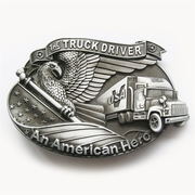 New Vintage Hero Road Truck Driver Belt Buckle Gurtelschnalle Boucle de ceinture