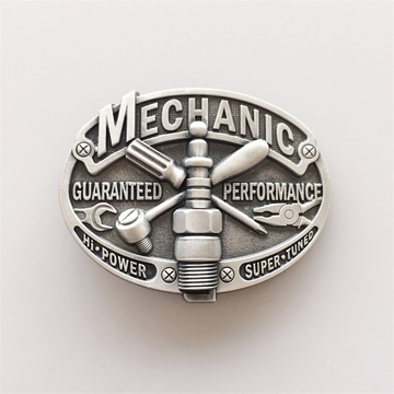 New Vintage Mechanic Trades Tradesman Belt Buckle Gurtelschnalle Boucle de ceinture