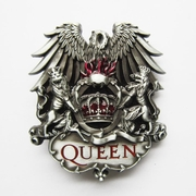 New Vintage Queen Lion Crown Belt Buckle Gurtelschnalle Boucle de ceinture