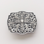 New Vintage Western Flowers Cross Knot Belt Buckle Gurtelschnalle Boucle de ceinture