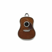 New Vintage Guitar Music Metal Charm Pendant