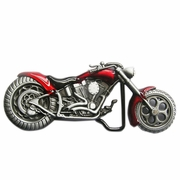 New Vintage Red 3D Heavy Metal Motorcycle Belt Buckle Gurtelschnalle Boucle de ceinture