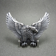 New Vintage Silver Plated American Pride Wildlife Eagle Western Belt Buckle