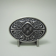New Original Vintage Silver Plated Celtic Legend Phoenix Oval Western Belt Buckle Gurtelschnalle Boucle de ceinture