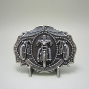 New Vintage Silver Plated Live to Ride Motorcycle Biker Rider Belt Buckle Gurtelschnalle Boucle de ceinture