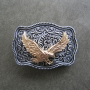 Small Size Vintage Original Fly Eagle Western Belt Buckle Gurtelschnalle Boucle de ceinture