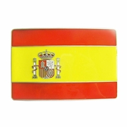 New Vintage Spain Espana Spanish Flag Belt Buckle Gurtelschnalle Boucle de ceinture BUCKLE-FG007