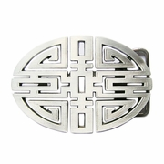 New Vintage Original Cut Out Traditional Lucky Knot Oval Belt Buckle Gurtelschnalle Boucle de ceinture