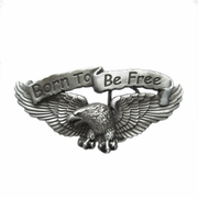 New Vintage Born to Be Free Eagle Biker Rider Belt Buckle Gurtelschnalle Boucle de ceinture