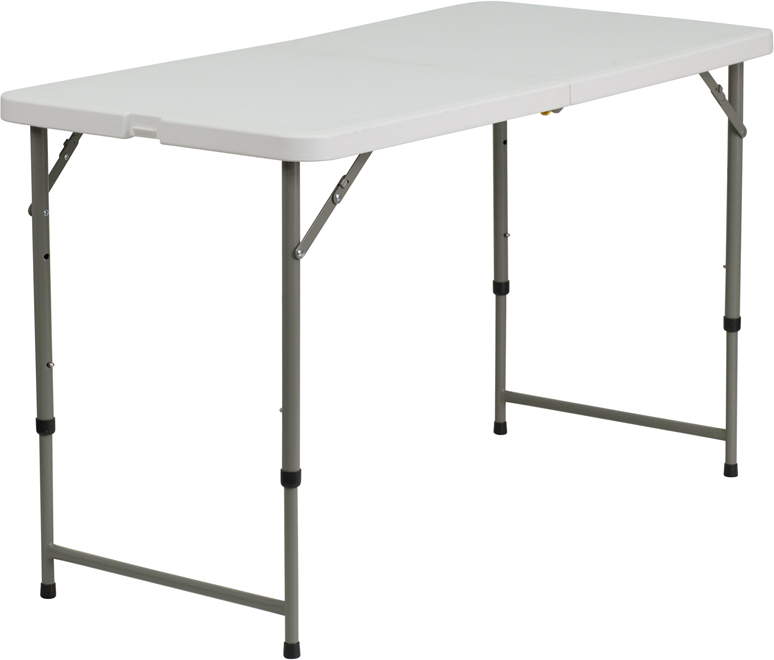 Commercial Quality Banquet Tables 60 Round Bi-Fold Plastic Folding Table 60 inches