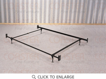 Adjustable Twin or Full Size Bed Frame by Coaster - 1207