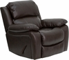 Flash Furniture Brown Leather Rocker Recliner MEN-DA3439-91-BRN-GG