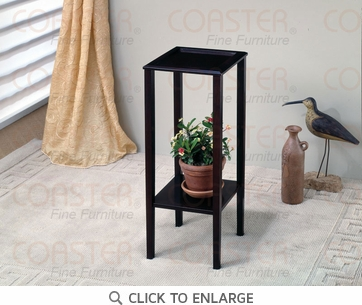 Cappuccino FInish Plant Stand Accent Table by Coaster - 900937