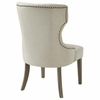 Donny Osmond Home Florence Accent Side Chair in Beige 104507