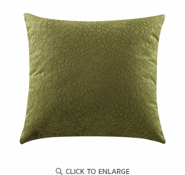Embossed Ring Pattern Accent Pillow by Coaster 905010 - Set of Two