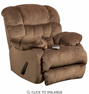 Flash Furniture Sharpei Espresso Recliner with Heat Control AM-H9460-5983-GG
